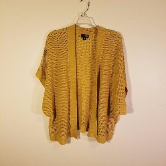 Ana Sweaters Ana Mustard Yellow Cardigan Sweater Poshmark